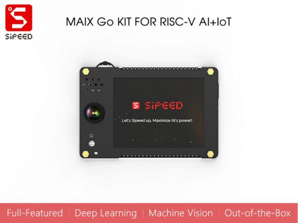 Sipeed MAix Go Suit for RISC-V AI+IoT