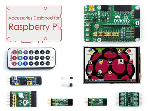 Raspberry Pi LCD development Kit
