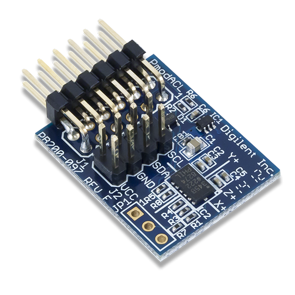 Pmod ACL: 3-axis Accelerometer