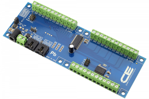 MCP23008 MCP23017 24-Channel Digital Input/Output with I2C Interface
