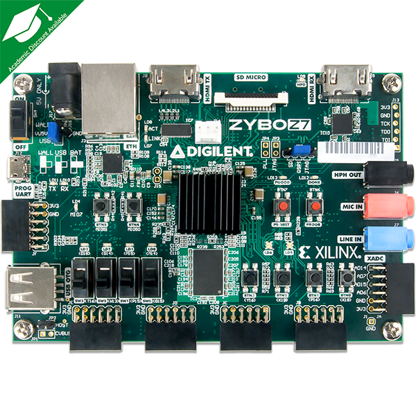 Zybo Z7-20: Zynq-7000 ARM/FPGA SoC Development Board