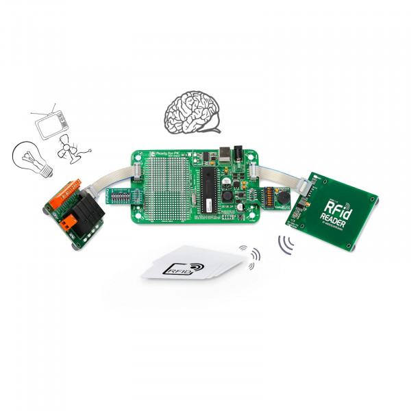 Let's make - RFid Lock with 4 Relays