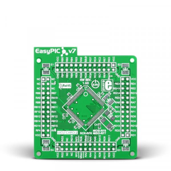 EasyPIC Fusion v7 Empty MCUcard2 100pin TQFP PF