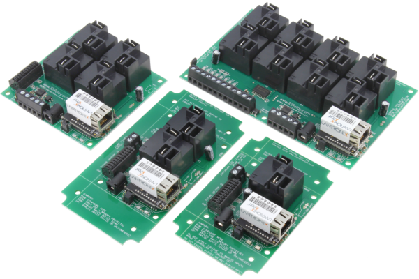 Ethernet Relay Controller with High Power Relays
