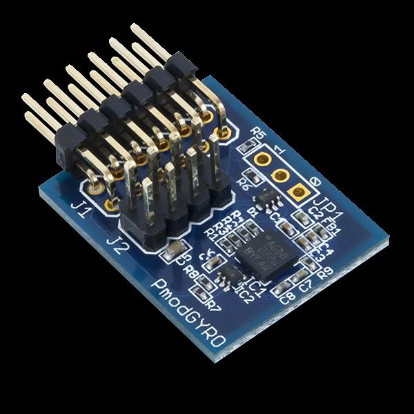 Pmod GYRO: 3-axis Digital Gyroscope