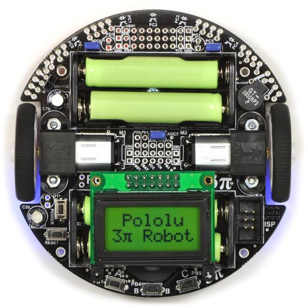 Pololu 3pi Robot - Best Line following Robot