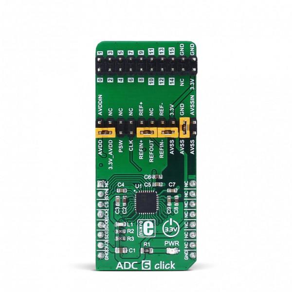 ADC 6 click