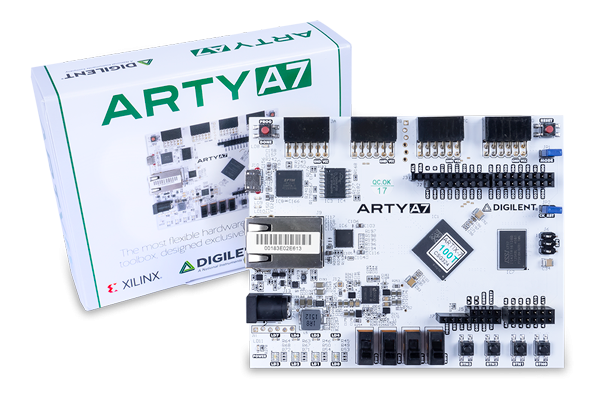 Arty A7-100T: Artix-7 FPGA Development Board for Makers and Hobbyists