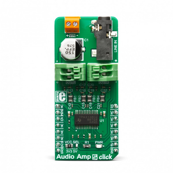 Audio Amp 5 Click