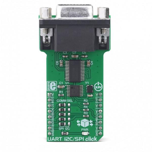 UART I2C/SPI Click