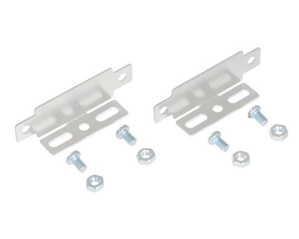Bracket Pair for Sharp GP2Y0A02, GP2Y0A21, and GP2Y0A41 Distance Sensors - Parallel