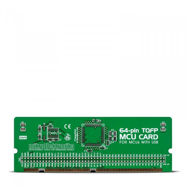BIGAVR6 64-pin USB TQFP MCU Card Empty PCB