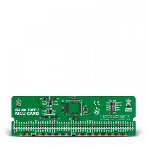 LV-24-33 v6 80-pin TQFP 1 MCU Card Empty PCB