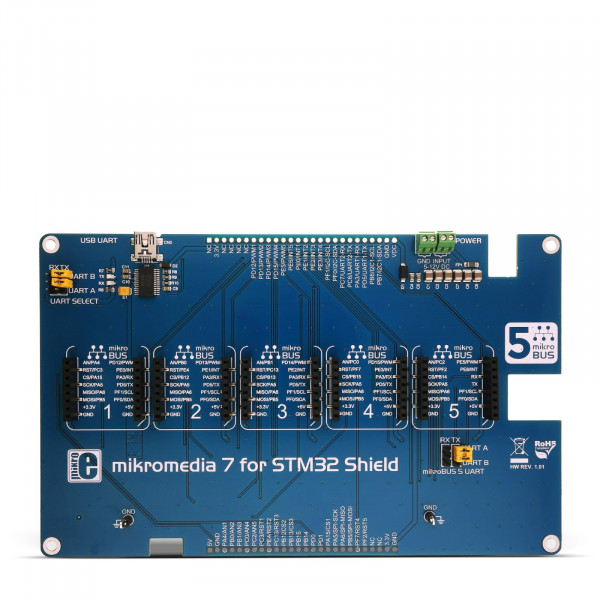 mikromedia 7 for STM32 Shield