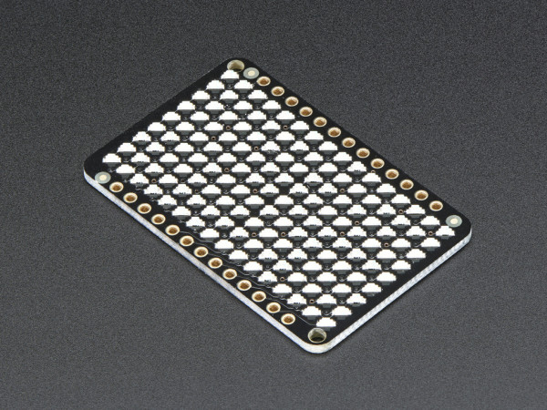 Adafruit LED Charlieplexed Matrix - 9x16 LEDs - Green