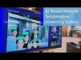 Remote AI Temperature Screening System
