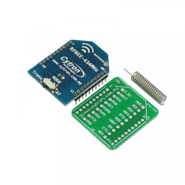 RFBee 434MHz UART Wireless Module (100m)