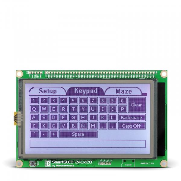 SmartGLCD 240x128 Board