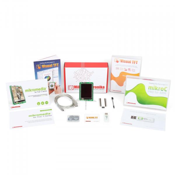 TFT Developer kit - Tiva