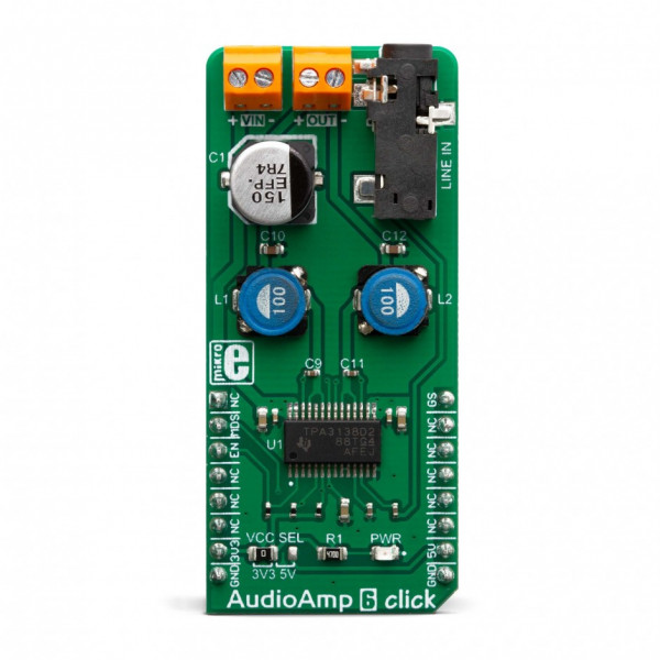 Audio Amp 6 click