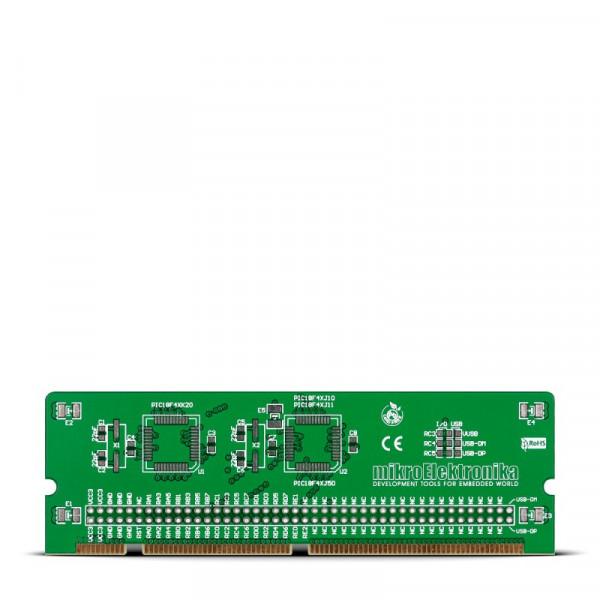 LV18F v6 44-pin TQFP MCU Card Empty PCB
