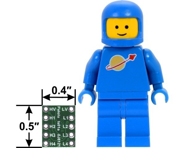Logic Level Shifter, 4-Channel, Bidirectional