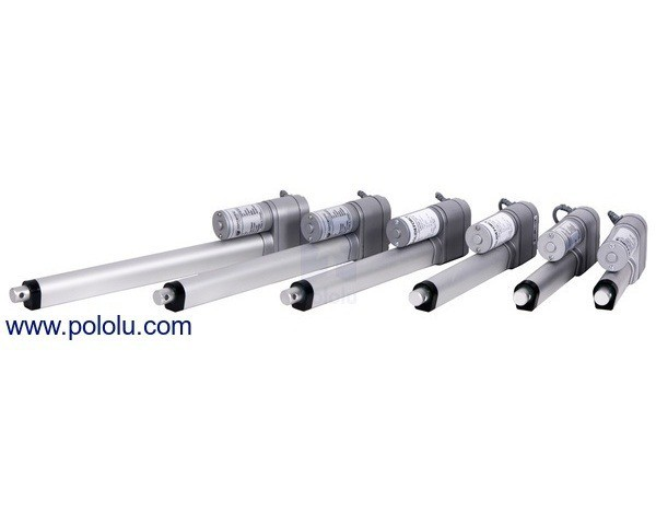 """Concentric LACT10-12V-20 Linear Actuator: 10"""" Stroke, 12V, 0.5""""/s"""