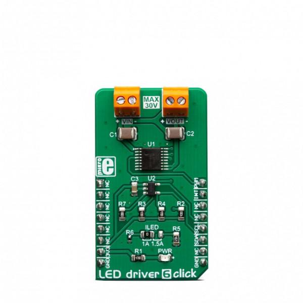 LED driver 6 Click