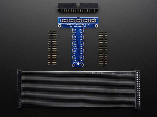 Adafruit Pi T-Cobbler Plus Kit - Breakout for Pi A+/B+/Pi 2