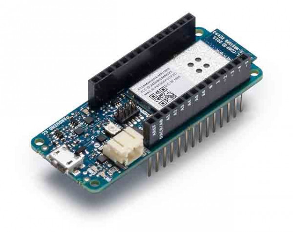 Arduino MKR1000 with Headers Mounted