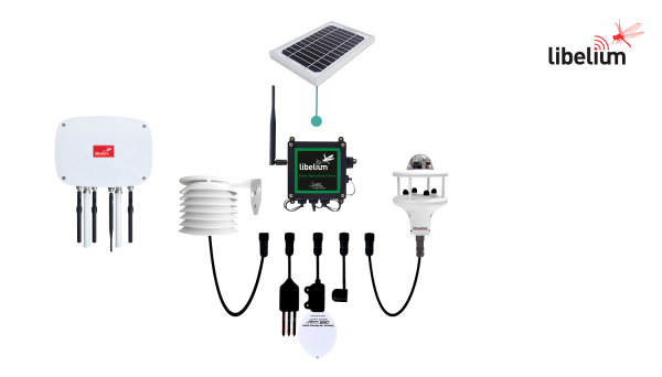 Libelium Smart Agriculture Xtreme Basic IoT Vertical Kit