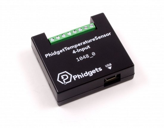 PhidgetTemperatureSensor 4-Input
