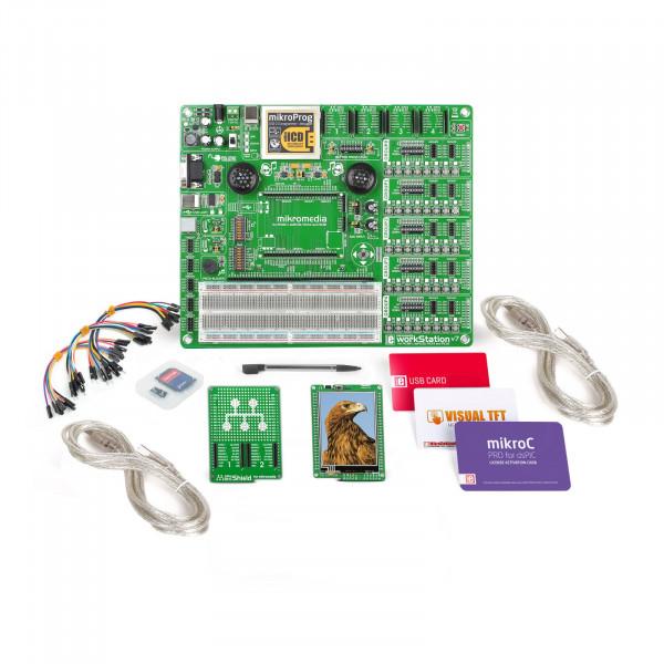 mikroLAB for mikromedia - PIC24 mikroC