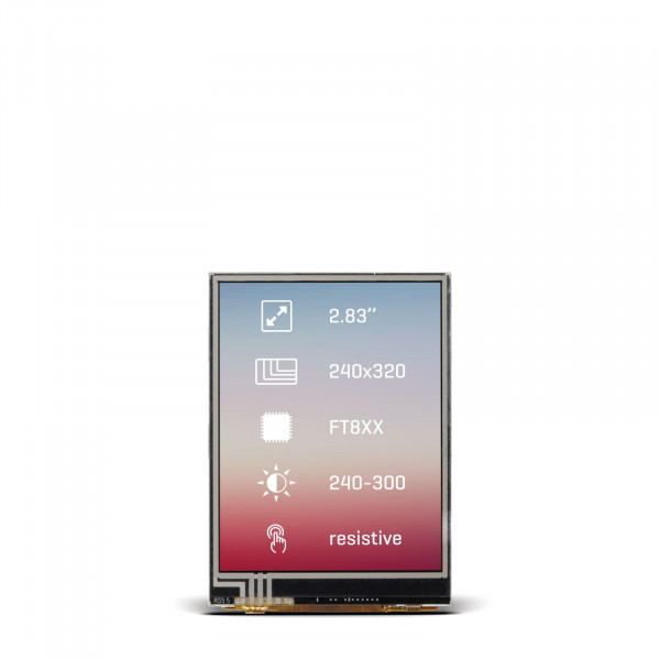 "Riverdi Display 2.8"" Res"