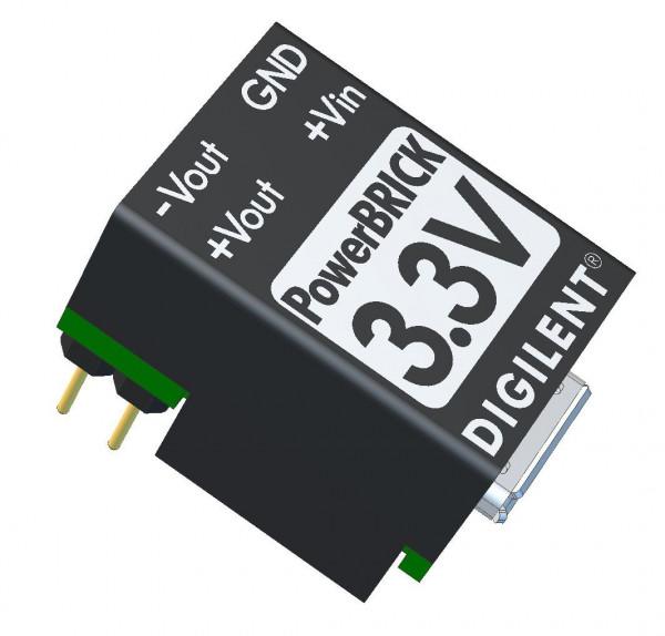 3.3V PowerBRICK: Breadboardable Dual Output USB Power Supplies