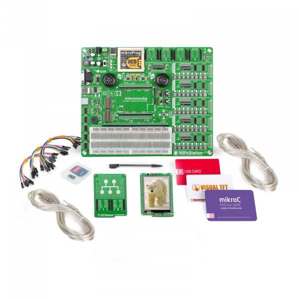 mikroLAB for mikromedia - PIC24EP mikroC