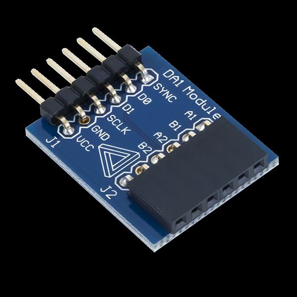 Pmod DA1: Four 8-bit D/A Outputs