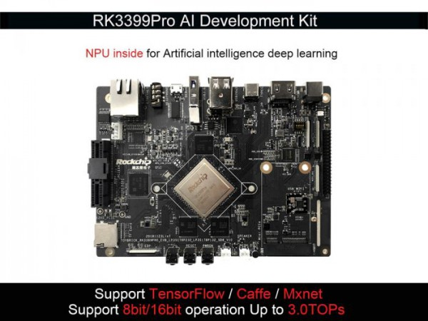 Toybrick RK3399Pro AI Development Kit 3G+16GB